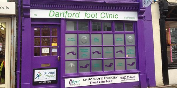 Dartford: View from Hythe Street