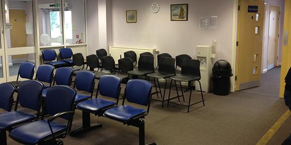 Gravesend: Waiting Area