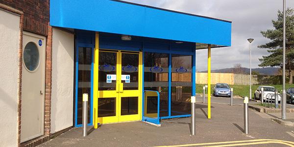 Larkfield: Main Entrance