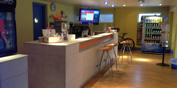 Maidstone: Reception and Cafe
