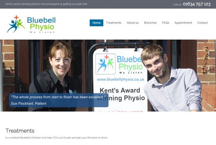 Bluebell New Website