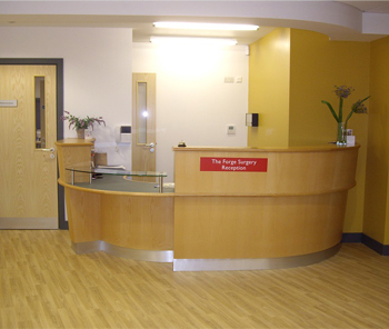 Bluebell Gravesend: Reception Desk